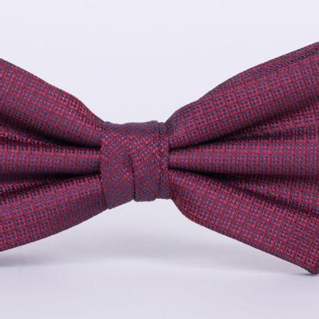 gravata-borboleta-com-desenhos-geometricos-em-poliester-vermelha-textura-medium-1