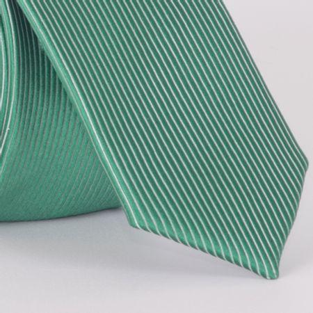 gravata-super-slim-com-desenho-listrado-em-poliester-verde-textura-small