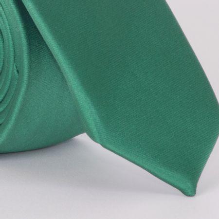 gravata-super-slim-com-desenho-falso-liso-em-poliester-verde-textura-small