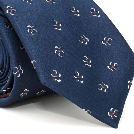 gravata-com-desenho-floral-em-poliester-azul-textura-large