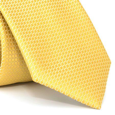 gravata-com-desenhos-geometricos-em-poliester-dourada-textura-medium