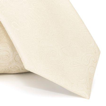 gravata-com-desenho-cashmere-em-poliester-amarela-textura-medium