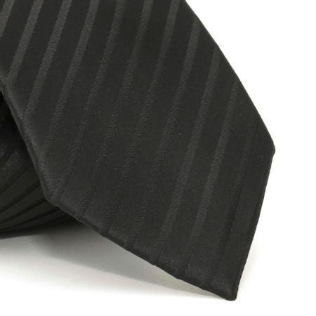 gravata-com-desenho-listrado-em-poliester-preta-textura-medium-6