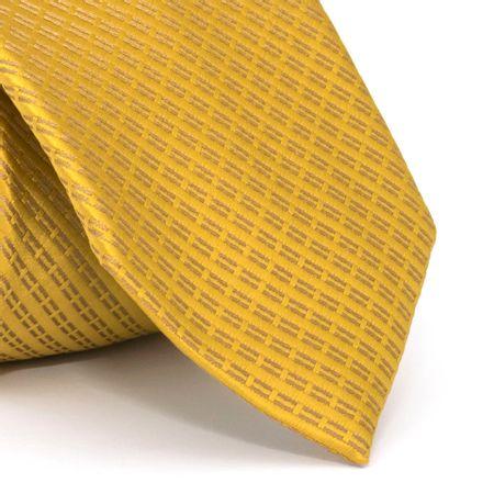 gravata-com-desenho-falso-liso-em-poliester-dourada-textura-small