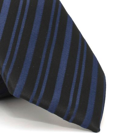 gravata-com-desenho-listrado-em-poliester-preta-textura-medium-4