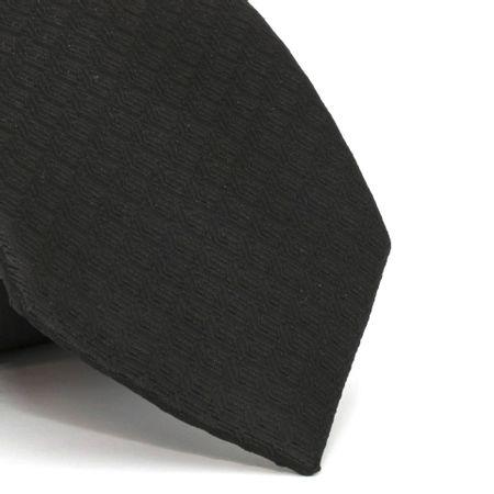 gravata-com-desenho-falso-liso-em-poliester-preta-textura-medium-1
