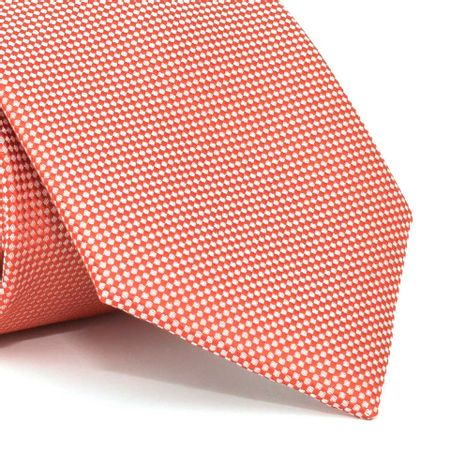 Gravata-com-desenhos-geometricos-em-poliester-Vermelha-textura-small-5