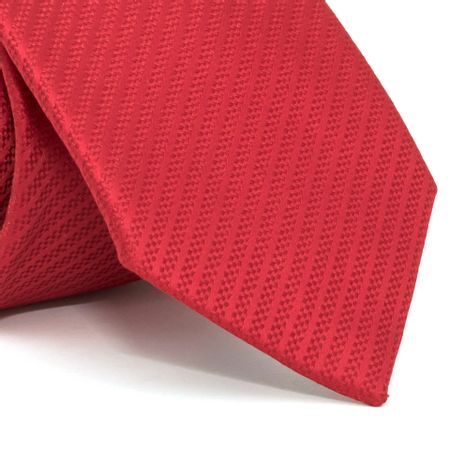 gravata-com-desenho-falso-liso-em-poliester-vermelha-textura-small-3-1