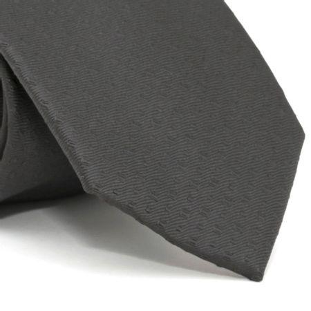 gravata-com-desenho-falso-liso-em-poliester-preta-textura-small-1