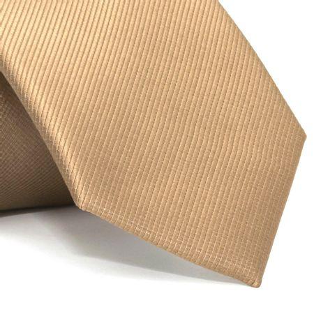 Gravata-com-desenho-falso-liso-em-poliester-Marrom-textura-small-1