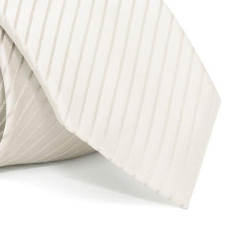 Gravata-com-desenho-listrado-em-poliester-Branca-textura-small