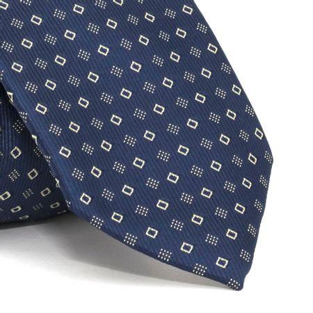 Gravata-com-desenhos-geometricos-em-poliester-Azul-textura-medium-2