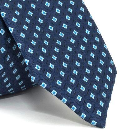 Gravata-com-desenhos-geometricos-em-poliester-Azul-textura-large