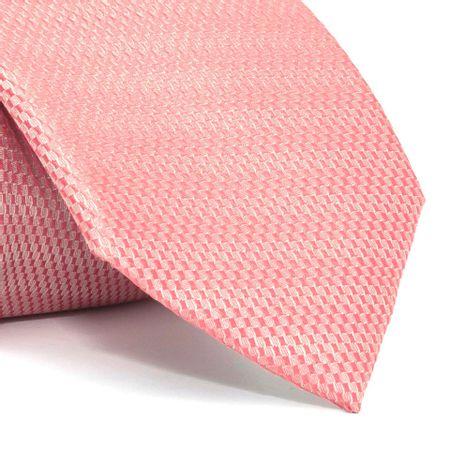 Gravata-com-desenhos-geometricos-em-poliester-Rosa-textura-small-1