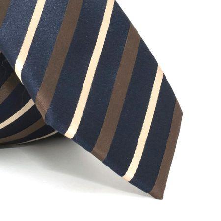 Gravata-com-desenho-listrado-em-poliester-Azul-textura-medium-1