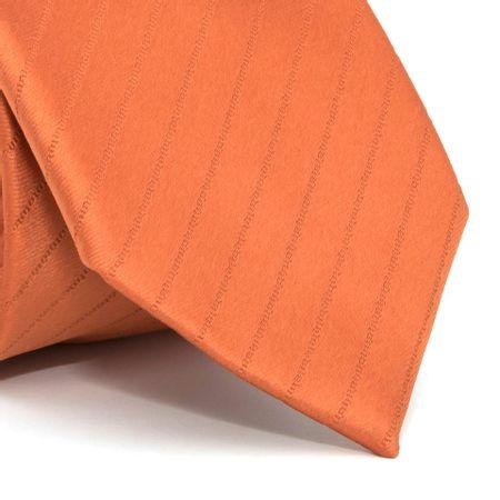 Gravata-com-desenho-listrado-em-poliester-Laranja-textura-small-1