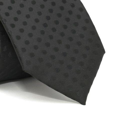 Gravata-com-desenhos-geometricos-em-poliester-Preta-textura-medium-10