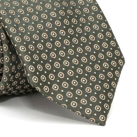 Gravata-com-desenhos-geometricos-em-poliester-Verde-textura-medium