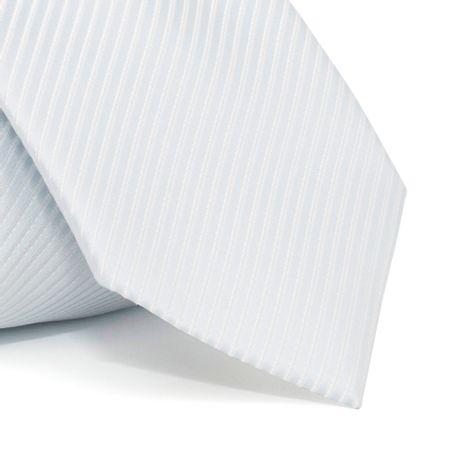 Gravata-cerimonial-com-desenho-falso-liso-em-poliester-Branca-textura-small
