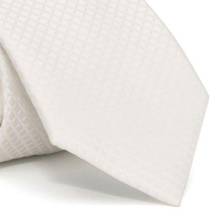 Gravata-cerimonial-com-desenhos-geometricos-em-poliester-Branca-textura-medium
