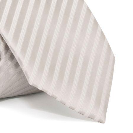 Gravata-cerimonial-com-desenho-listrado-em-poliester-Cinza-textura-medium