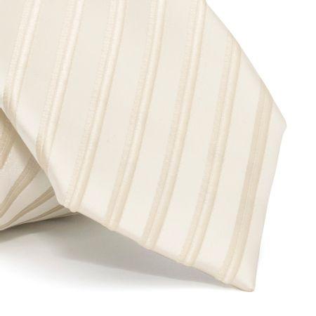 Gravata-cerimonial-com-desenho-listrado-em-poliester-Amarela-textura-large
