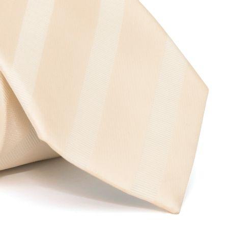Gravata-cerimonial-com-desenho-listrado-em-poliester-Amarela-textura-large-1