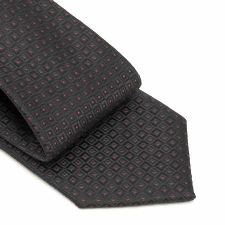 Gravata-com-no-pronto-desenhos-geometricos-em-poliester-Preta-textura-large