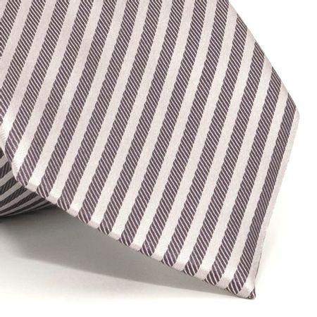 Gravata-com-desenho-listrado-em-seda-pura-Cinza-textura-medium