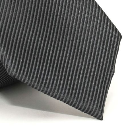 Gravata-com-desenho-falso-liso-em-seda-pura-Preta-textura-small