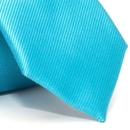 Gravata-com-desenho-falso-liso-em-seda-pura-Azul-textura-small-2