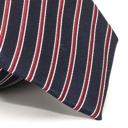 Gravata-com-desenho-listrado-em-seda-pura-Azul-textura-medium