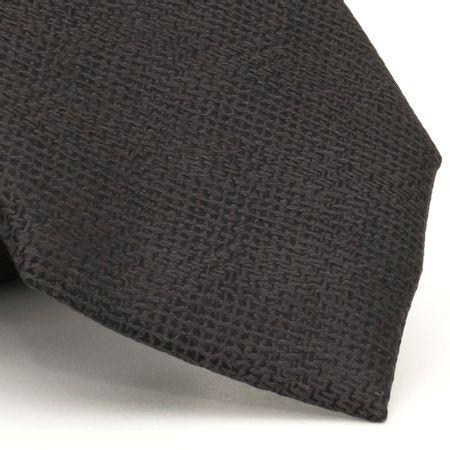 Gravata-com-desenho-falso-liso-em-seda-pura-Cinza-textura-small-4