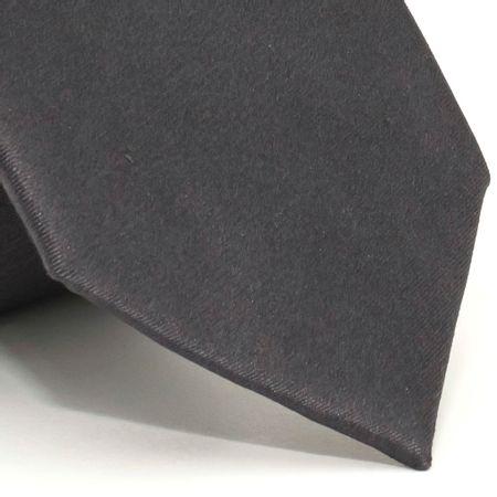 Gravata-com-desenho-falso-liso-em-seda-pura-Cinza-textura-small-2