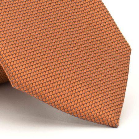 Gravata-com-desenhos-geometricos-em-seda-pura-Laranja-textura-small