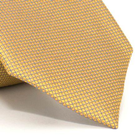 Gravata-com-desenhos-geometricos-em-seda-pura-Dourada-textura-small