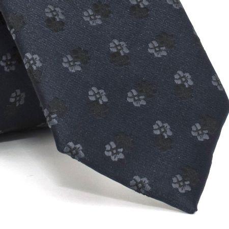 gravata-slim-com-desenho-floral-em-poliester-azul-textura-medium-1