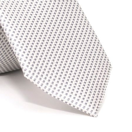 Gravata-Slim-com-desenhos-geometricos-em-poliester-Cinza-textura-small-4