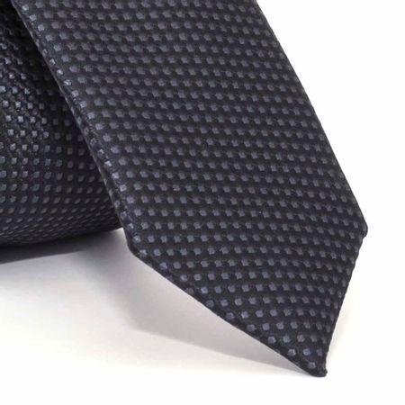 Gravata-Super-Slim-com-desenhos-geometricos-em-poliester-Cinza-textura-medium-1