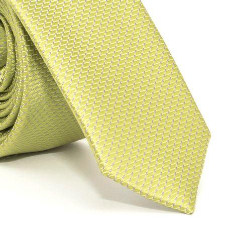 gravata-super-slim-com-desenhos-geometricos-em-poliester-verde-textura-small-3