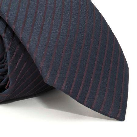 Gravata-com-lenco-e-caixinha-desenhos-geometricos-em-poliester-Azul-textura-small-2