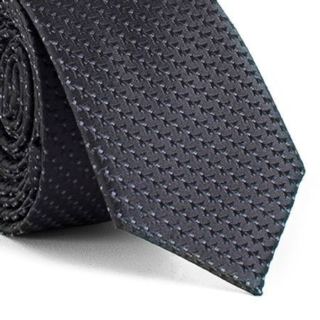 Gravata-Slim-com-desenhos-geometricos-em-poliester-Preta-textura-small-6