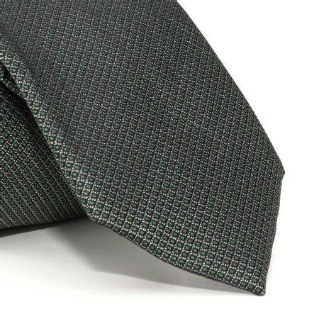 Gravata-com-desenhos-geometricos-em-seda-pura-Verde-textura-small-2