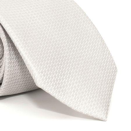Gravata-com-desenhos-geometricos-em-seda-pura-Cinza-textura-small-3