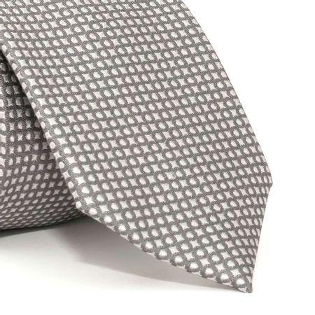 Gravata-com-desenhos-geometricos-em-seda-pura-Cinza-textura-small-5