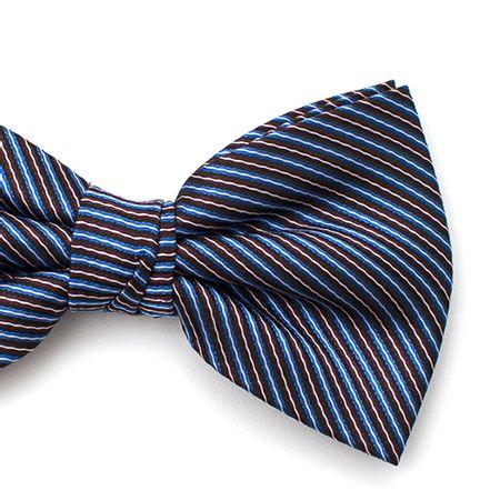 Gravata-borboleta-com-desenho-listrado-em-poliester-Azul-textura-small