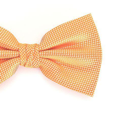 Gravata-borboleta-com-desenho-falso-liso-em-poliester-Laranja-textura-small