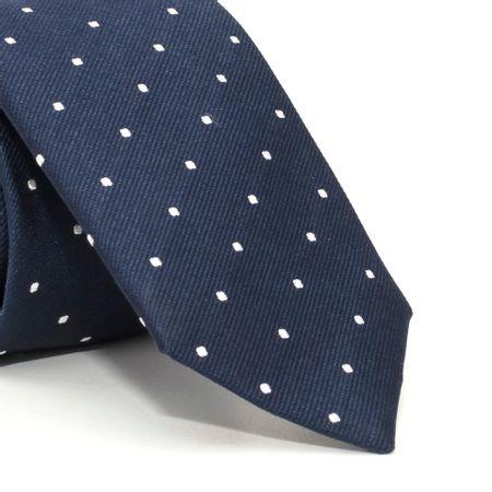 Gravata-Slim-com-desenho-geometrico-em-seda-pura-Azul-textura-small
