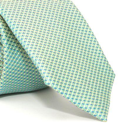 Gravata-Slim-com-desenho-geometrico-em-seda-pura-Verde-textura-small
