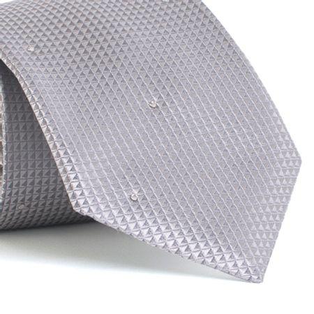 Gravata-com-desenhos-geometricos-em-seda-pura-swarovski-Prata-textura-small-1